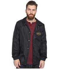 Volcom Recall Coaches Jacket Black Men's Coat