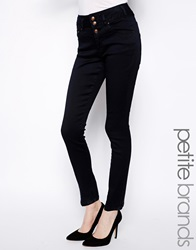 New Look Petite High Rise Supersoft Skinny Jean Navy
