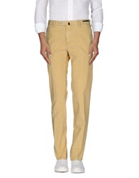 Pt01 Trousers Casual Trousers Men Light Yellow