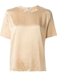 Forte Forte Shortsleeved Blouse Nude And Neutrals