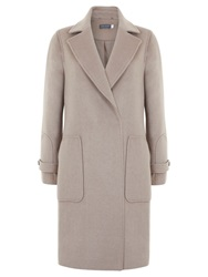 Mint Velvet Oversized Coat Camel