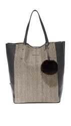 Splendid Key West Tote Black Multi