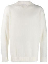 Laneus Crew Neck Jumper Neutrals