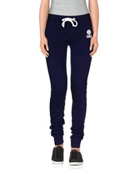Franklin And Marshall Trousers Casual Trousers Women Dark Blue
