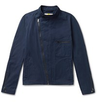 Connolly Goodwood Cotton Twill Jacket Blue