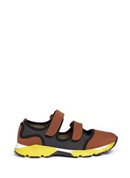 Marni Velcro Strap Mesh Neoprene Sneakers Multi Colour