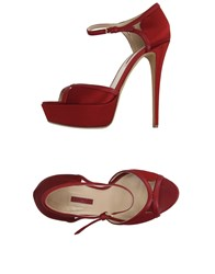 Elie Saab Sandals Red