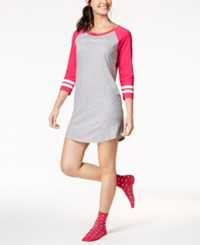 By Jennifer Moore Striped Cuff Sleepshirt Au Revoir