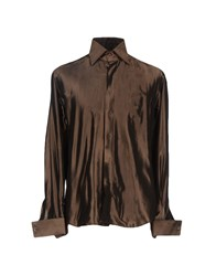 Maestrami Shirts Shirts Men Dark Brown