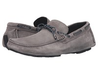 Bugatchi Monte Carlo Moccasin Piombo Men's Shoes Silver
