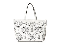 Echo Starburst Reversible Essex And Pouch White Black Tote Handbags