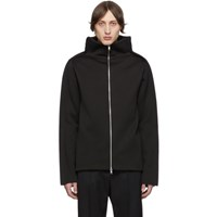 Maison Martin Margiela Black Gauge 12 Zip Up Sweater