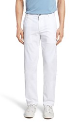 Ag Jeans Men's Slim Fit Khaki Chinos Bright White