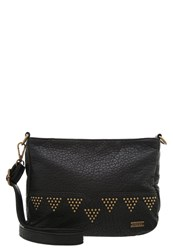 Roxy Funky Town Across Body Bag Anthracite Black