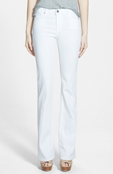 Ag Jeans 'Angel' Flare Pants White