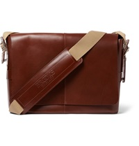 Brooks England Barbican Leather Satchel Brown