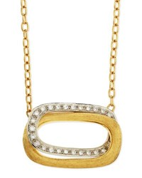 Marco Bicego Murano 18K Gold And Diamond Pendant Necklace