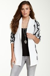 Romeo And Juliet Couture Aztec Print Wrap Cardigan Multi