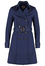 Anna Field Trenchcoat Navy Dark Blue