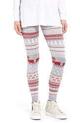 Junior Women's Love By Design Christmas Print Leggings