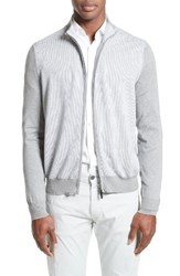 Canali Men's Zip Sweater