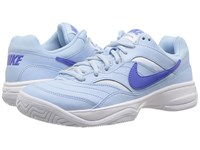 Nike Court Lite Ice Blue Comet Blue White Comet Blue Women's Tennis Shoes