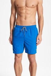 Tommy Bahama Men's Big And Tall Naples Happy Go Cargo Swim Trunks Electric Marine