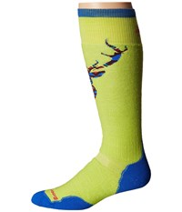 Smartwool Phd Slopestyle Medium Akaigawa Green Men's Knee High Socks Shoes