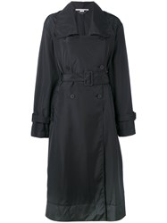 Stella Mccartney Belted Trench Coat Black
