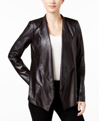 Jm Collection Petite Foil Printed Knit Jacket Only At Macy's Superior Fl Dp