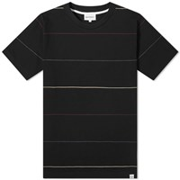 Norse Projects Johannes Thin Stripe Tee Black