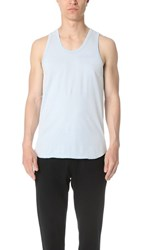 Reigning Champ Scalloped Tank Sky Blue