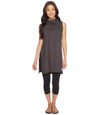 Fig Clothing Yay Top Charcoal Gray