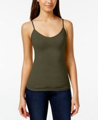 Energie Juniors' Reversible Seamless Camisole Dark Olive
