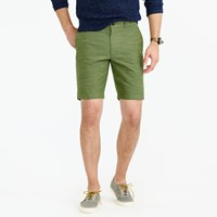 J.Crew 9 Short In Rustic Chambray