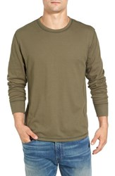 Jeremiah Men's Larsen Zigzag Thermal T Shirt Dusty Olive