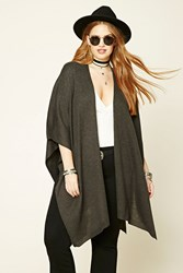 Forever 21 Plus Size Open Front Poncho