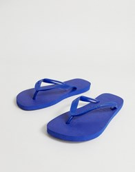 Havaianas Top Flip Flops In Blue