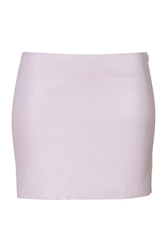 Jitrois Leather Mini Skirt
