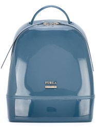 Furla Candy Backpack Women Pvc One Size Blue