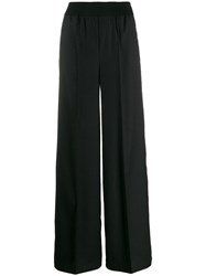 Semicouture Tailored Raised Seam Trousers Black