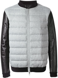 Valentino Feather Down Jacket Grey