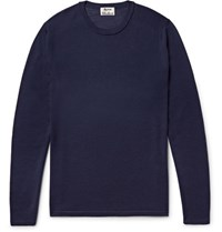 Acne Studios Kort Merino Wool Sweater Navy