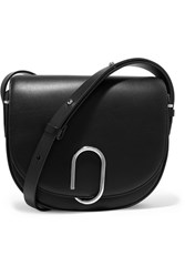 3.1 Phillip Lim Alix Saddle Leather Shoulder Bag Black