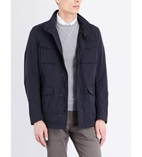 Slowear Cotton Blend Field Jacket Navy