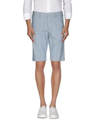 Aspesi Trousers Bermuda Shorts Men Sky Blue