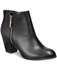 Styleandco. Style Co. Jamila Zip Booties Only At Macy's Women's Shoes Black