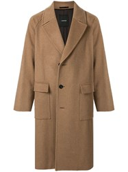 Loveless Single Breasted Wide Lapel Coat 60