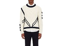 Orley Men's Deconstructed Sailor Sweater Ivory