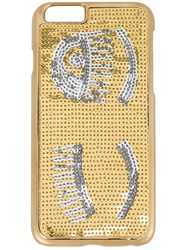 Chiara Ferragni 'Flirting' Iphone 6S Case Metallic